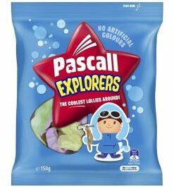 Pascall Explorers Lollies 150g
