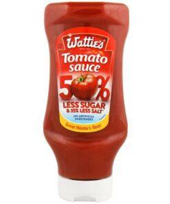 Watties Tomato Sauce 50% less Sugar