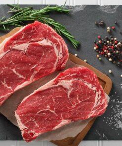 Rib Eye (Scotch Fillet) - NZ Angus Premium Beef (2 Portion Pack)