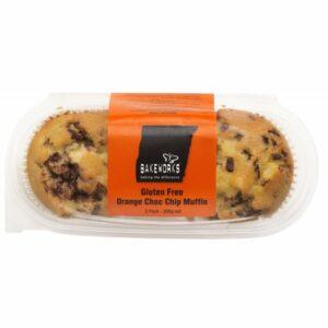 Bakeworks Orange Choc Chip Muffins
