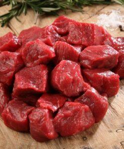 Diced Beef - NZ Angus Premium Beef