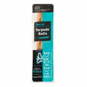 Torpedo Rolls - Bakeworks Gluten Free