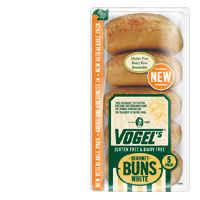 Vogels Gluten Free Burger Buns White