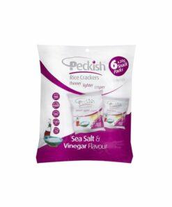 Peckish Rice Crackers Sea Salt & Vinegar
