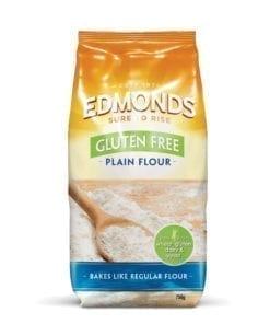 Edmonds Gluten Free Plain Flour 750g