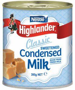 Nestle Highlander Condensed Milk Sweetened can