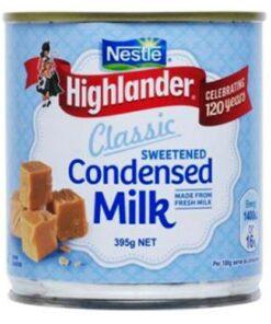 Nestle Highlander Condensed Milk Sweetened