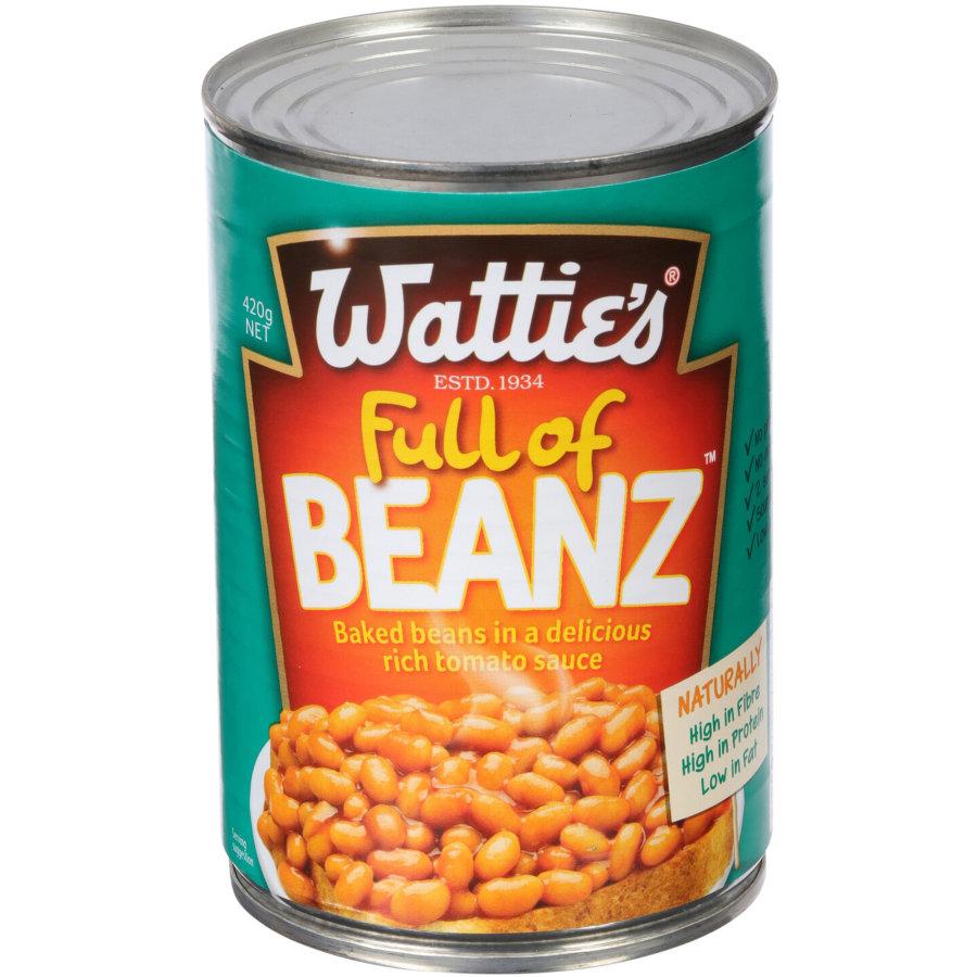 Watties Full Of Beanz Baked Beans 420g Kiwi Kitchen