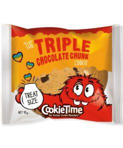 Cookie Time Triple Chocolate Chunk Cookie 85g