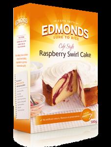 Edmonds Cafe Style - Raspberry Swirl Cake