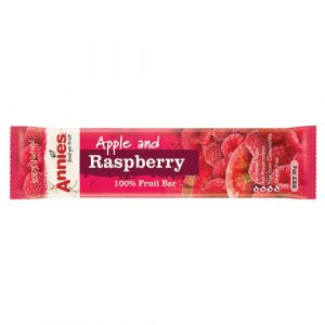 Apple & Raspberry – Annies 100% Fruit Bars