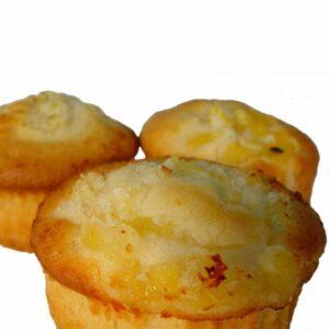 Peach, Passionfruit & Almond Muffin - Phoenix Gluten Free