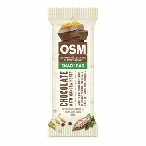 OSM - Chocolate with Manuka Honey Snack Bar