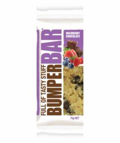 Cookietime Bumper Bars Muesli Slice - Wildberry Chocolate
