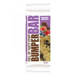 Cookietime Bumper Bars Muesli Slice - Wildberry Chocolate