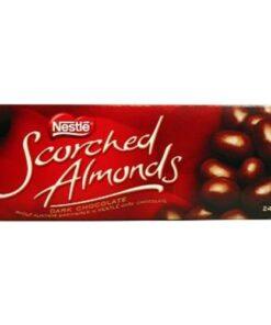 Nestle Scorched Almonds Dark Chocolate