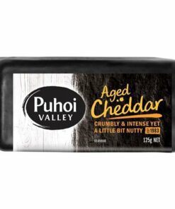 Puhoi Hard Cheese Aged Cheddar Wedge
