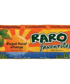 Raro Sachet Sweet Navel Orange 3pk