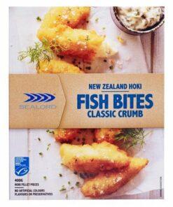 Sealord Fish Bites Classic Crumbed Hoki