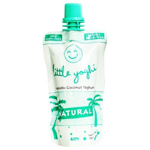 Natural Flavour Little Yoghis - Raglan Coconut Yoghurt - 75ml