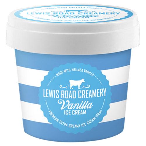 Lewis Road Creamery Premium Vanilla Ice Cream – 120ml