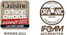 Cuisine Artisan Award Winner 2012