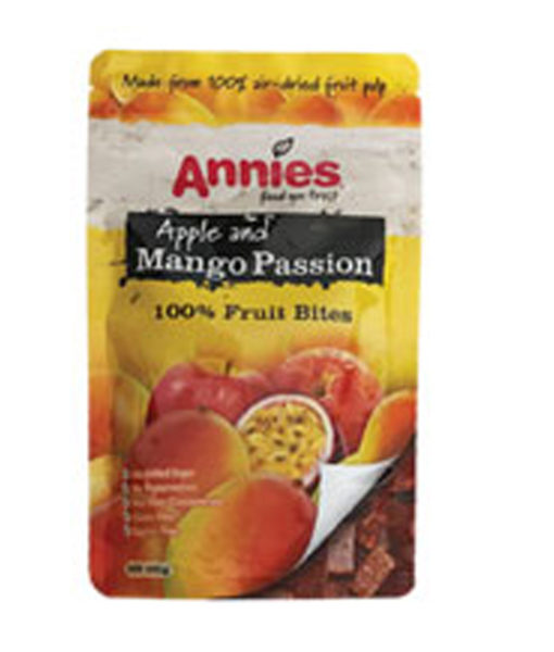 Mango Passion Fruit Bites – Annies 100% Fruit Bites