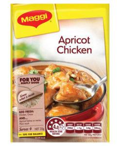 Apricot Chicken Maggi Recipe Base