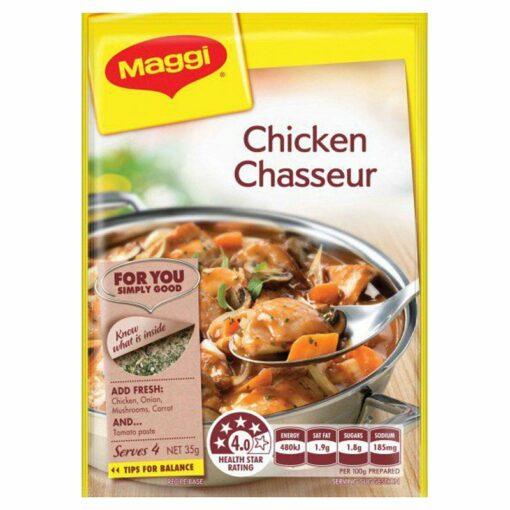 Chicken Chasseur Maggi Recipe Base