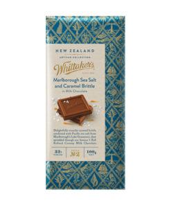 Whittakers Artisan Collection Chocolate Block Sea Salt Caramel Brittle