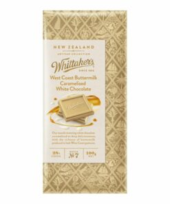 Whittakers Artisan Collection Chocolate Block West Coast Buttermilk Caramelised White Chocolate