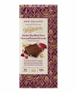 Whittakers Artisan Collection Chocolate Block Black Doris Plum & Almond