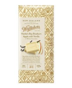 Whittakers Artisan Collection Chocolate Block Hawkes Bay White Braeburn