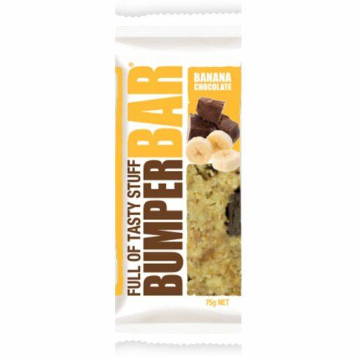 Cookietime Bumper Bars Muesli Slice - Banana & Chocolate