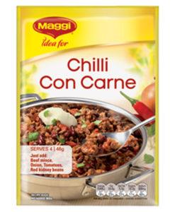 Chilli Con Carne Maggi Recipe Base
