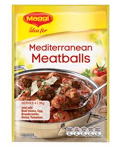 Mediterranean Meatballs Maggi Recipe Base