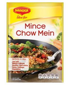 Mince Chow Mein Maggi Recipe Base