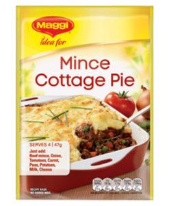 Mince Cottage Pie Maggi Recipe Base