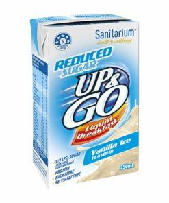 Sanitarium Up & Go Breakfast Drink - Reduced Sugar Vanilla (6 pk)