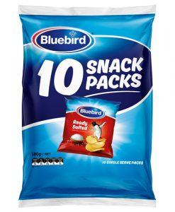 Bluebird Multi Pack Ready Salted