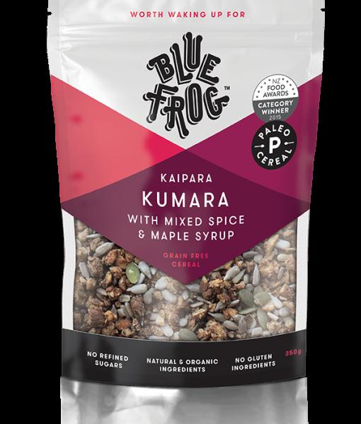 Blue Frog - Kaipara Kumara with Mixed Spice & Maple Syrup