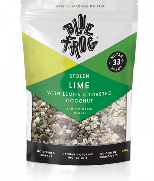 Blue Frog - Stolen Lime with Pistachio & Toasted Coconut