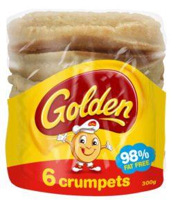 Golden Crumpets Rounds 300G