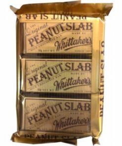 Whittakers Chocolate Bar Peanut Slab