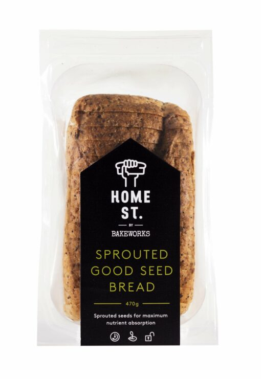 Bakeworks Home St. Sprouted Good Seed Bread - Gluten Free