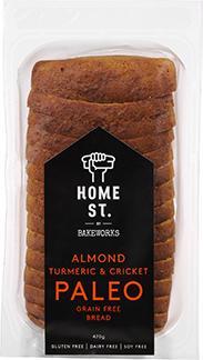 Home St. Almond, Tumeric & Cricket Paleo