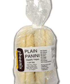 Phoenix Gluten Free Plain Panini 4 Pack 600g