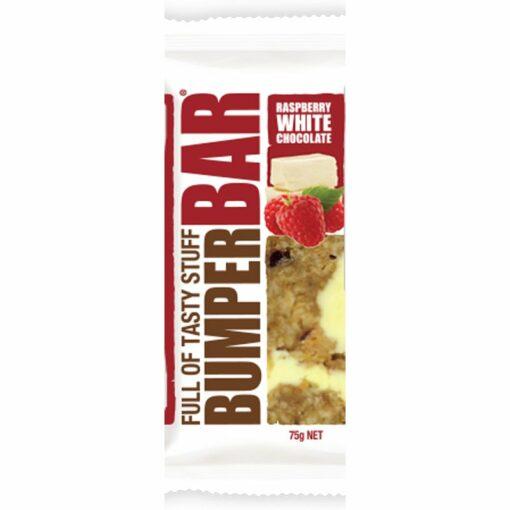Cookietime Bumper Bars Muesli Slice Raspberry White Chocolate