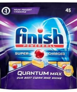 Finish Quantum Max Tabs Lemon 45 Pack