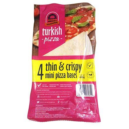 Turkish Bread Pizza Bases Thin & Crispy Mini Pizza Bases